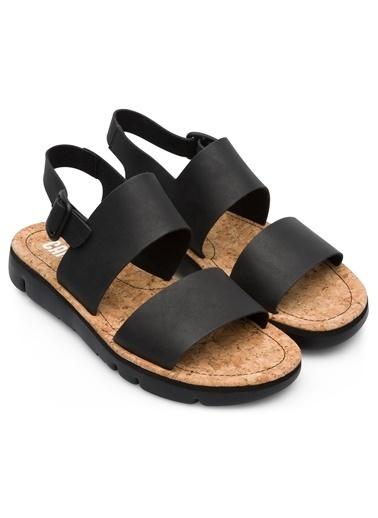 Camper Oruga Sandal Sandalet Siyah